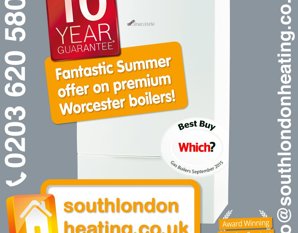 South London Heating Worcester Bosch Boilers Installation Replacement special offer