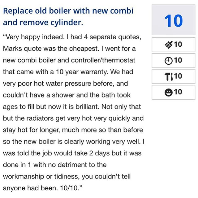 Our latest review on checkatrade ! Another happy customer inhellip