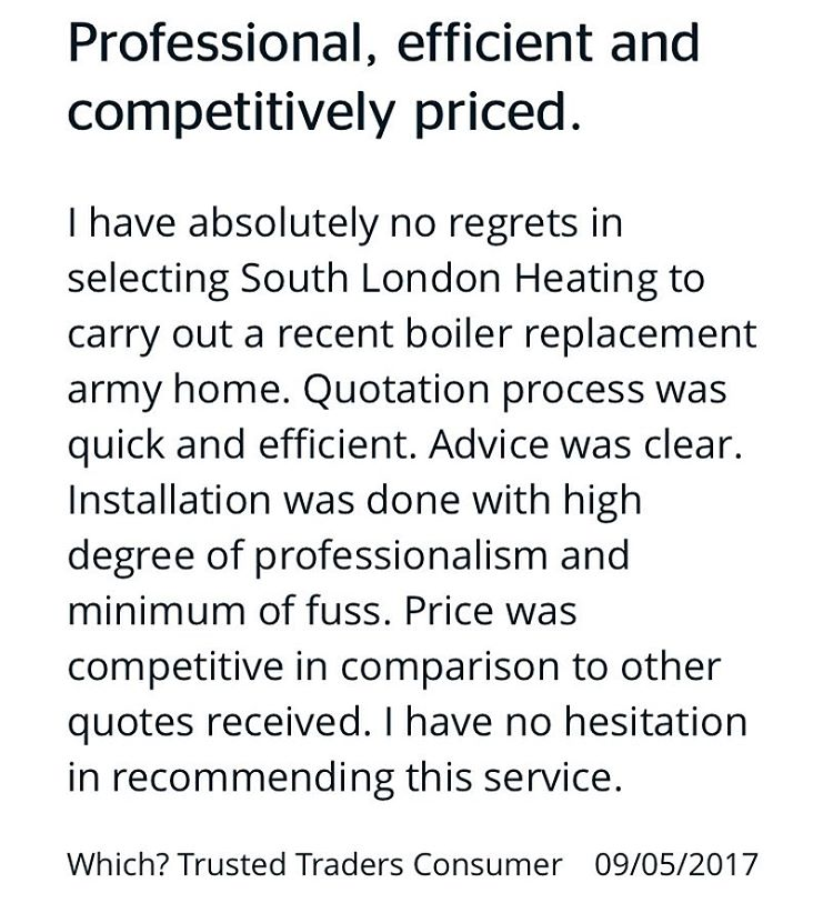 We love our customers feedback Another happy customer in SE19hellip
