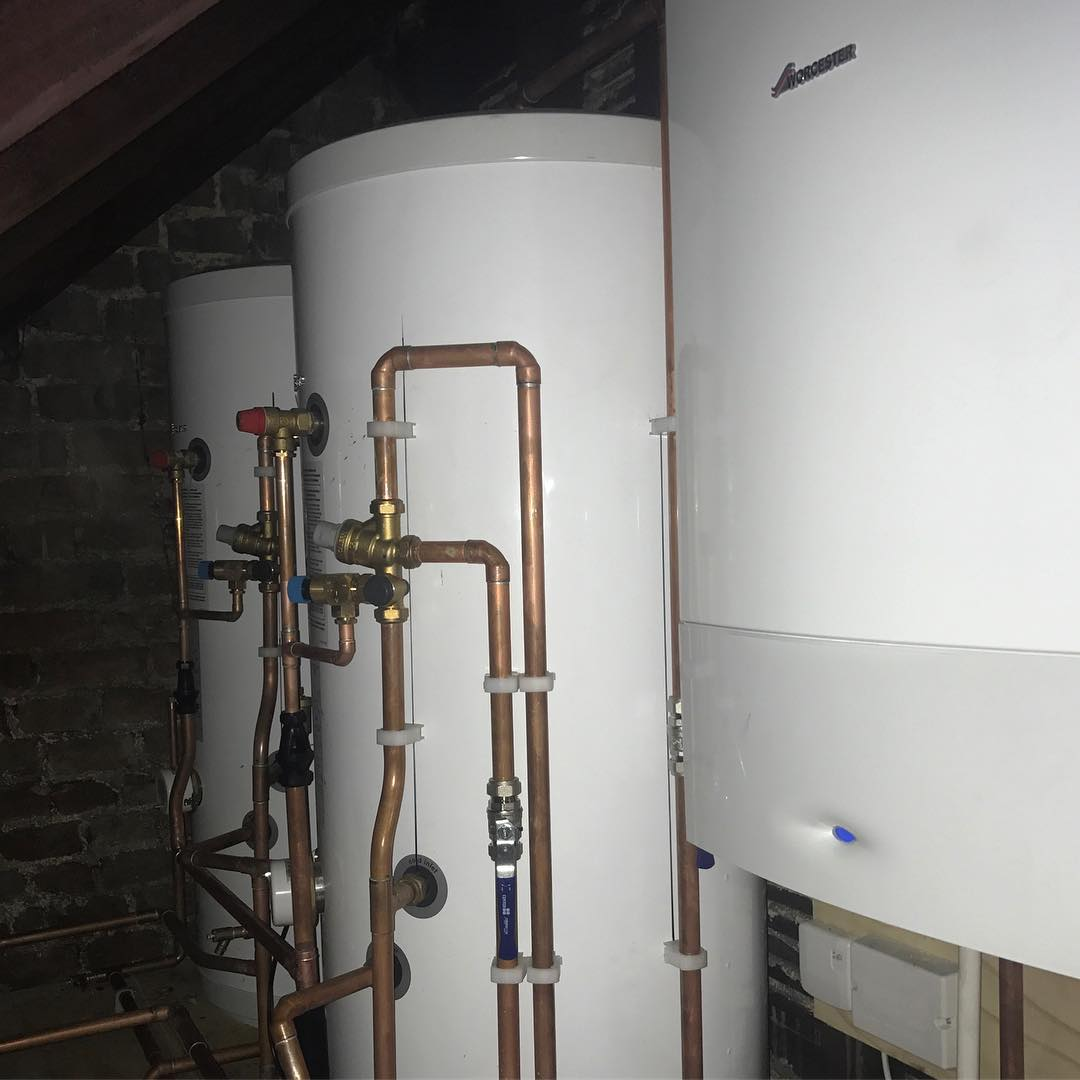 Detail from this weeks CentralHeating installation Happy customer in Pengehellip