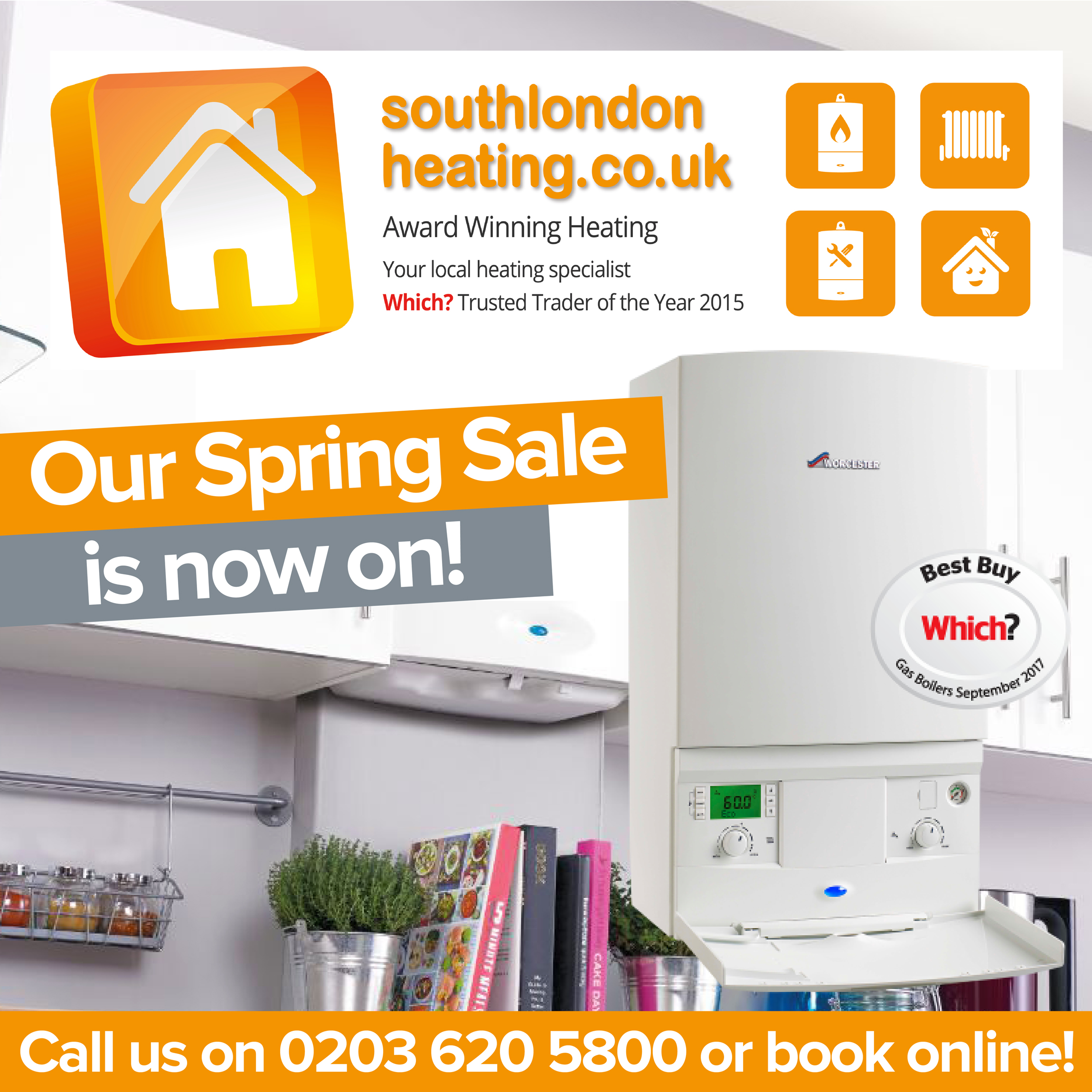 South London Heating - Our Spring Sale is now on!