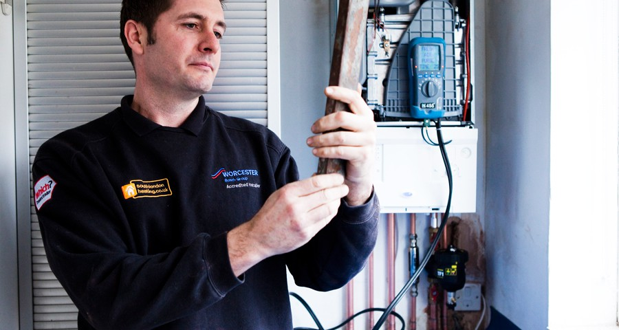 Mark Gallagher South London Heating, Which? Trusted Trader of the Year 2015