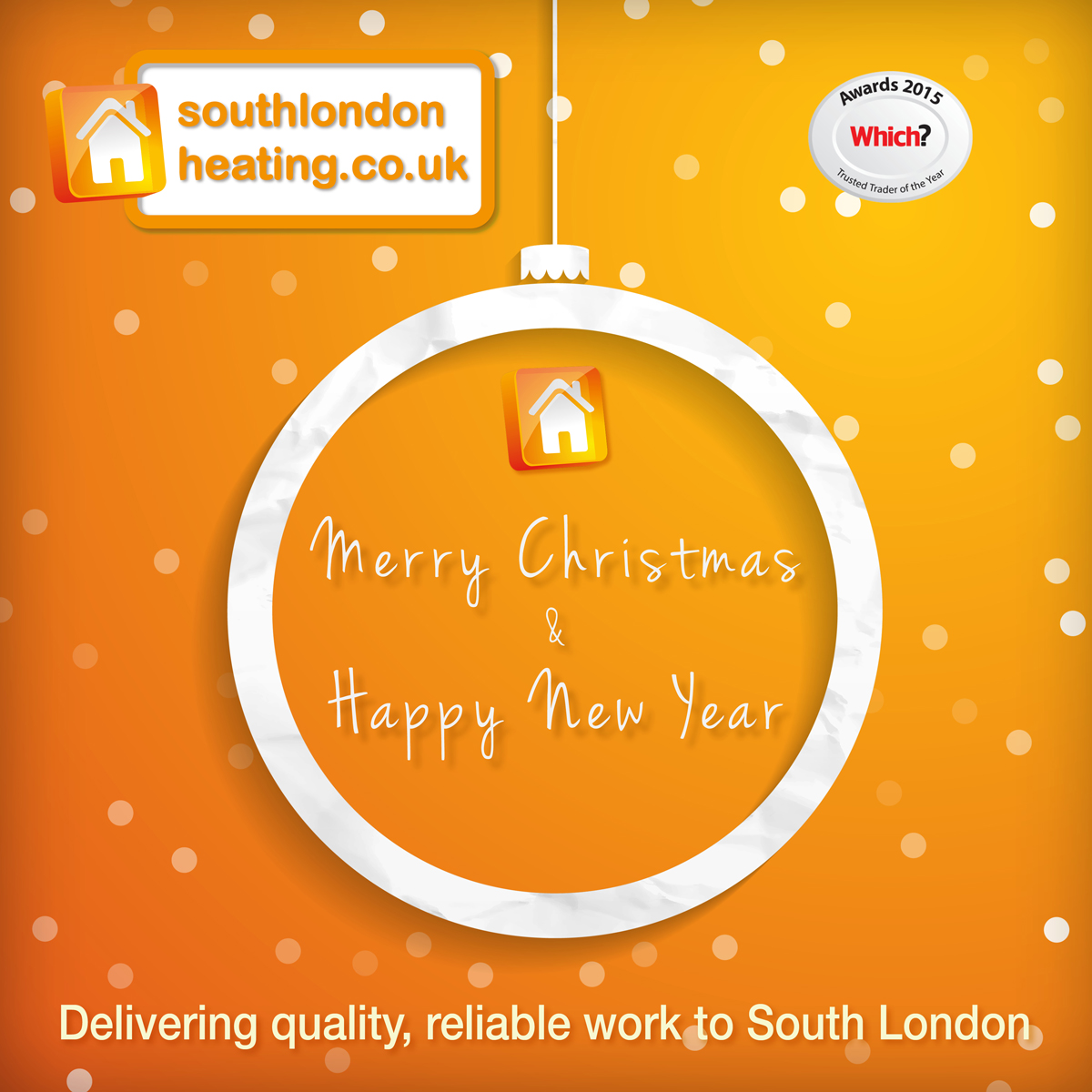 Merry Christmas and Happy New Year from South London Heating!