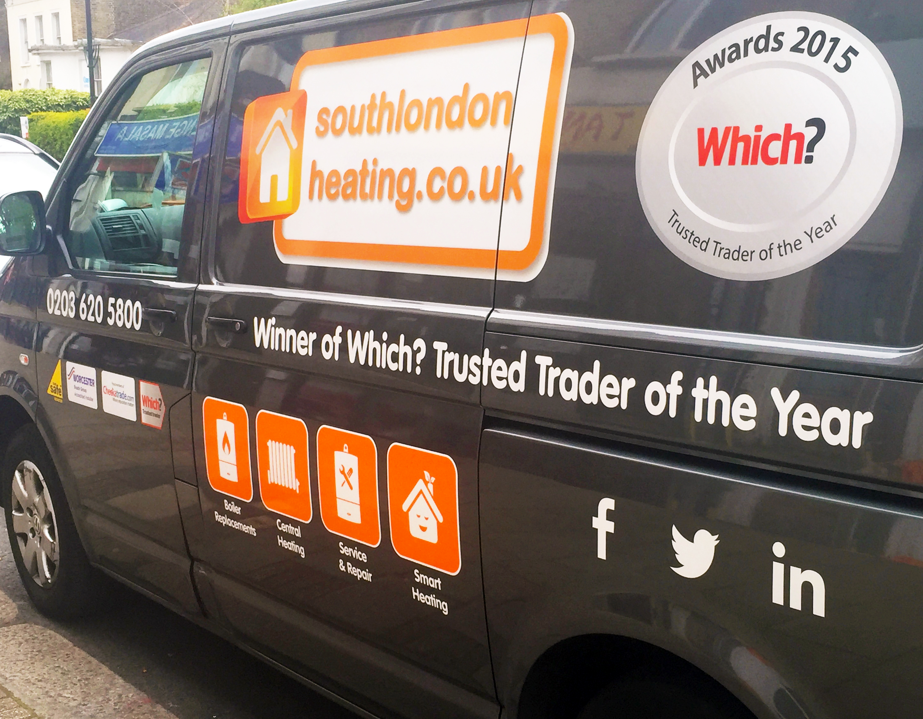 Winner of the Which? Trusted Trader of the Year award!