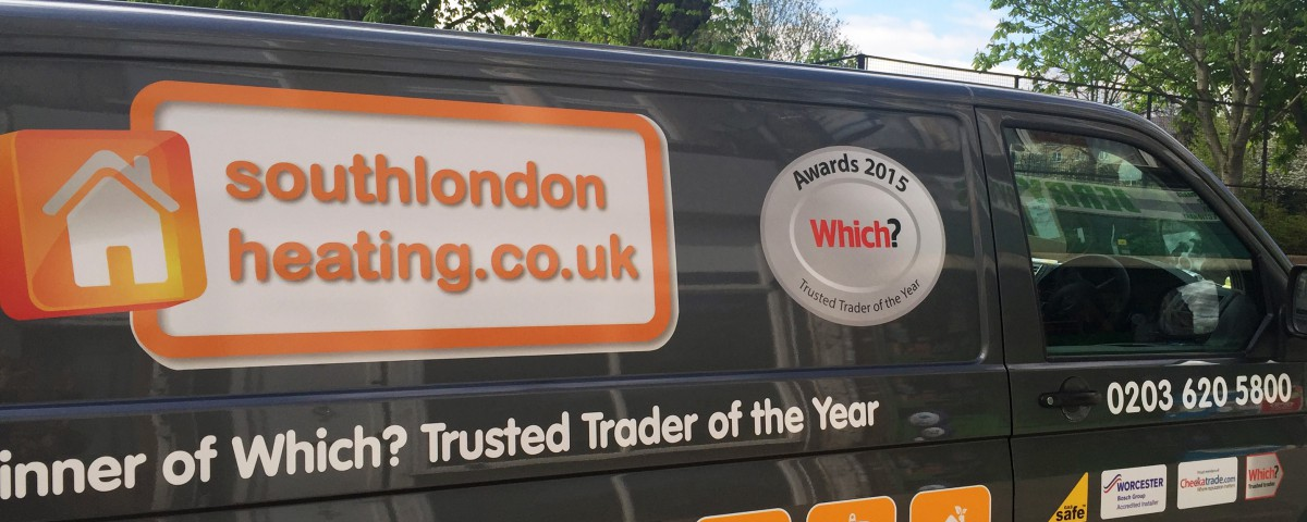 South London Heating - Winner of Which? Awards 2015 'Trusted Trader of the Year'