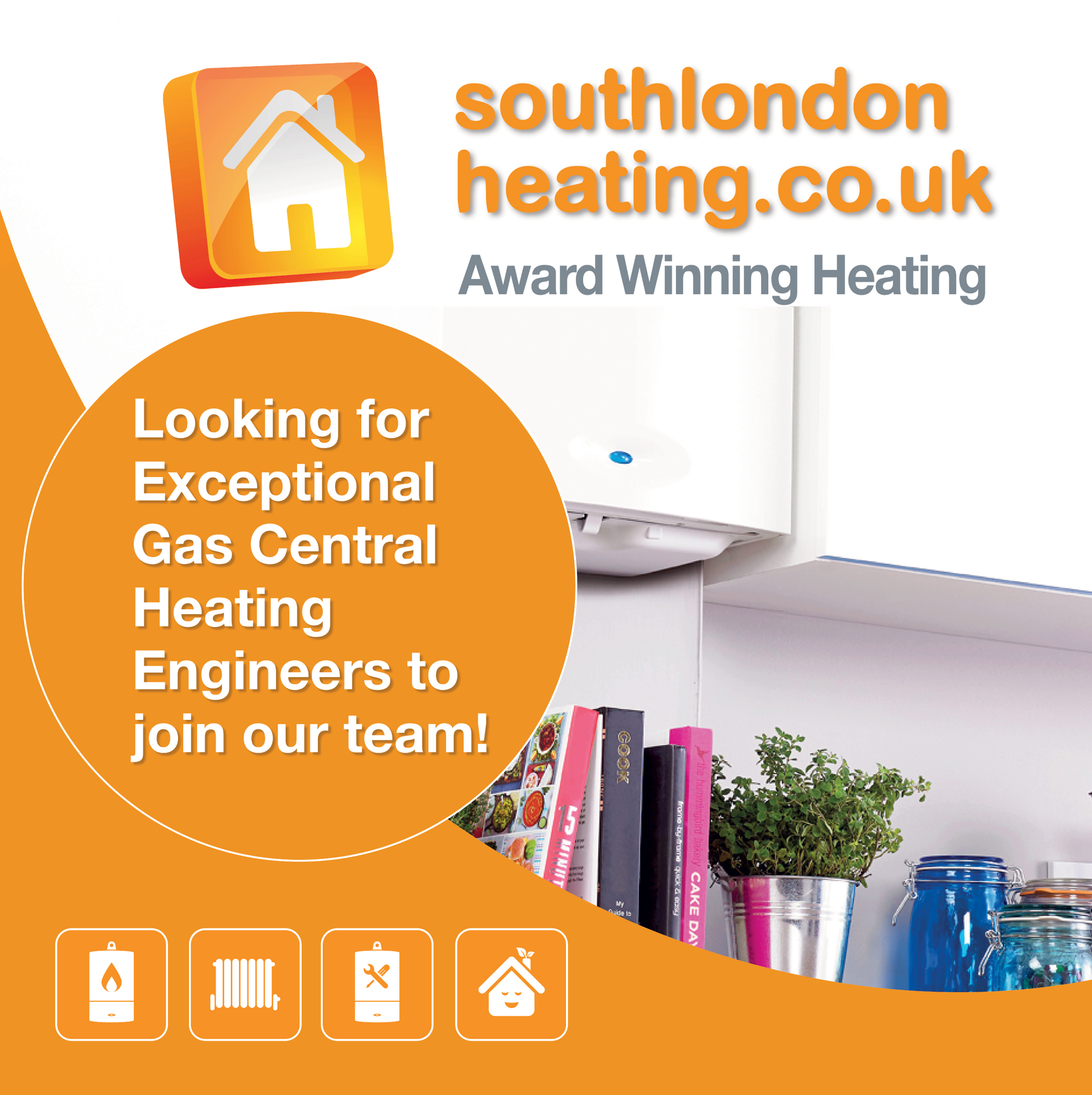 Looking for Exceptional Gas Central Heating Engineers to join our team