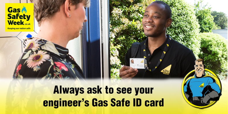 Always use a Gas Safe Register Engineer!