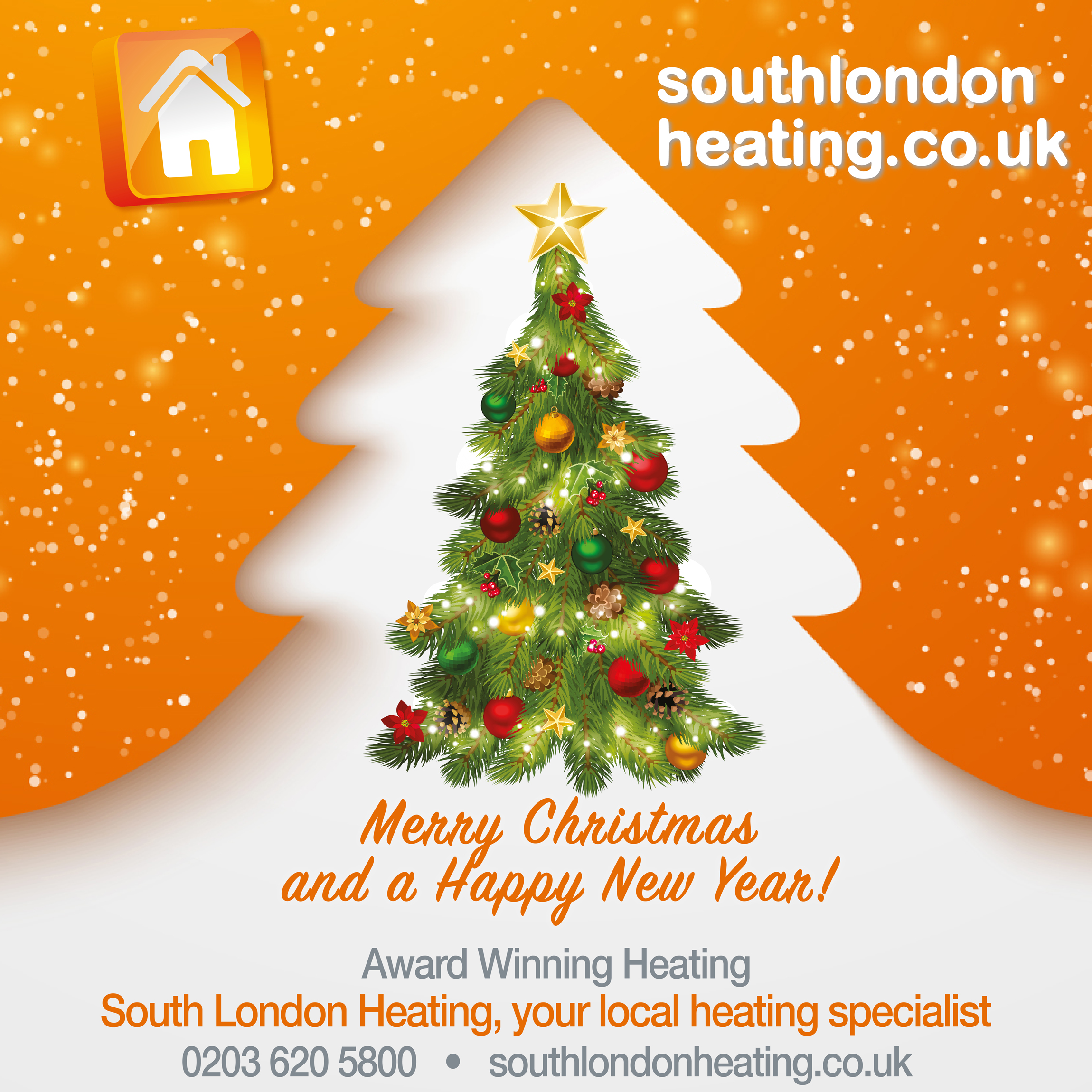 South London Heating Merry Christmas and a Happy New Year 2019