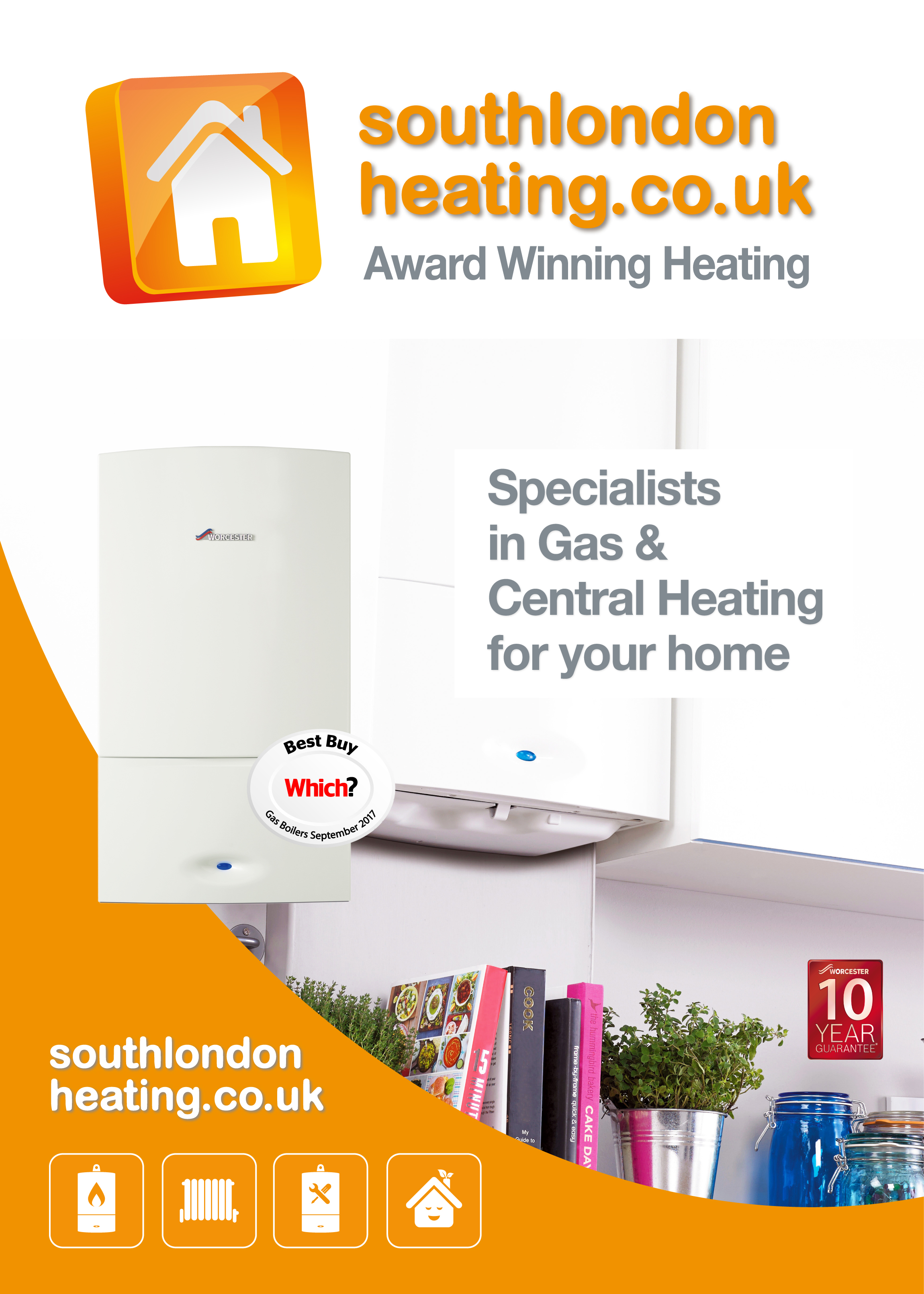 SOUTH LONDON HEATING - SPECIALISTS IN GAS CENTRAL HEATING AND BOILER INSTALLATIONS