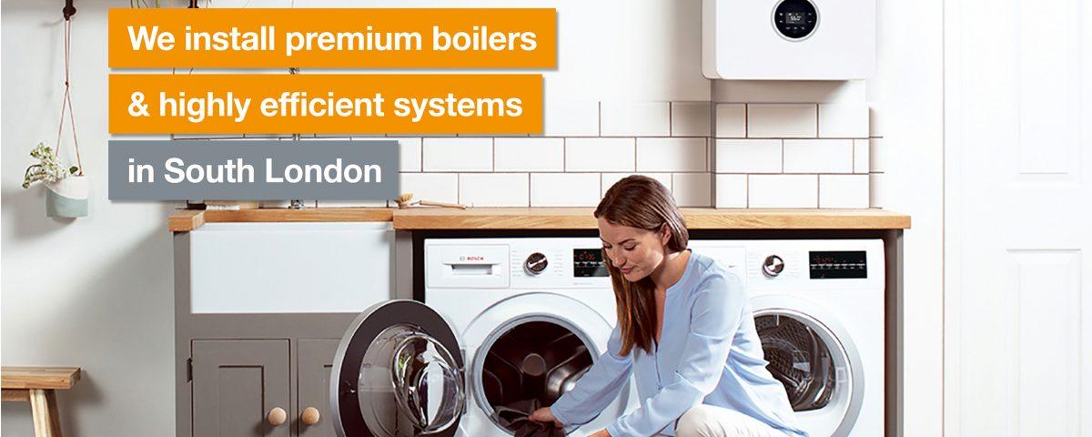 South London Heating Worcester Bosch new boiler